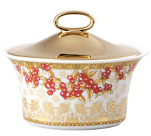 Versace Christmas in Your Heart Sugar Bowl Covered 7 Oz