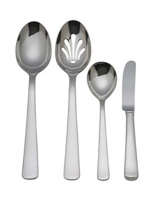 Silver Echo 4-Piece Hostess Set