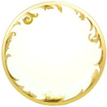 Versace Arabesque Gold Dinner Plate 11.5""