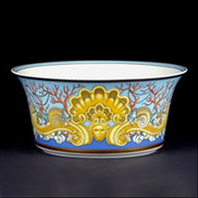 Versace Les Tresors de la Mer Open Vegetable Bowl 8""