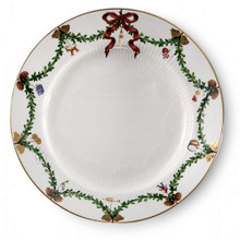 "Royal Copenhagen Star Fluted Christmas Dinner Plate 10.5"" (2503627)"