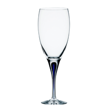 Orrefors Intermezzo Blue White Wine (Set of 4)