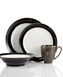 Denby Praline 4 Piece Place Setting (Dinner, Salad, Cereal, Mug)
