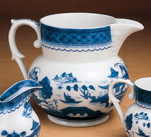 Mottahedeh Blue Canton Large Pitcher