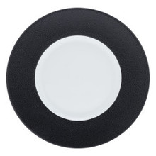 "Philippe Deshoulieres Seychelles Black Dinner Plate 11"" (Set of 2)"