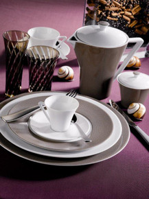 Philippe Deshoulieres Seychelles Taupe 5 Piece Place Setting