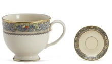 "Lenox Autumn Cup 7 Oz & Saucer 5"" (Set of 4)"