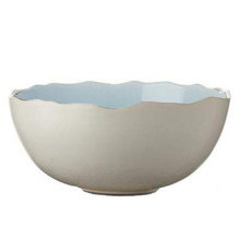 "Jars Plume Ocean Blue Serving Bowl 11"" x 10 "" x 4.7"""