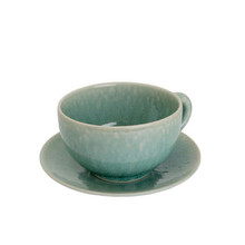 Jars Tourron Jade Jumbo Cup 15.2 oz. & Saucer (Set of 4)
