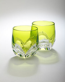 Waterford Mixology Neon Lime Tumbler, Set of 2