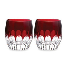 Waterford Mixology Talon Red Tumbler, Set of 2