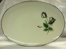 "Stonegate / Heritage Midnight Rose 15"" Oval Platter"