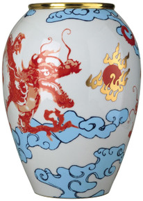 Raynaud Constellation Dragon Jar