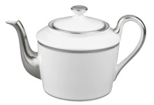 Raynaud Fontainebleau Platinum with Marly Filet Tea Pot