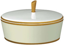 Gala Beige Covered Sugar Bowl
