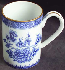 Mottahedeh Imperial Blue Mug Without Gold Rim