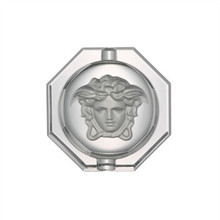 Versace Medusa Lumiere Crystal Ashtray 3 1/4""