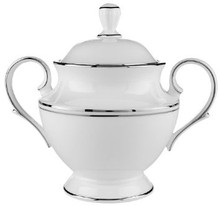 Lenox Federal Platinum Covered Sugar Bowl