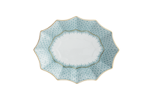 Heritage House's Mottahedeh Green Lace Fluted Tray - Medium