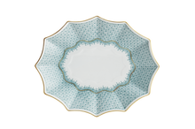 Heritage House's Mottahedeh Green Lace Fluted Tray - Large