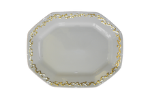 Heritage House's Mottahedeh Barriera Corallina Gold Platter Large