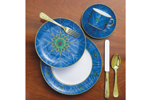 Heritage House's Mottahedeh Lapis 4 Piece Place Setting