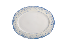 Heritage House's Mottahedeh Virginia Blue Oval Platter