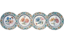Heritage House's Mottahedeh Merian Dessert Plate (Set of 4)