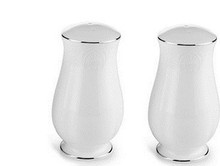 Lenox Hannah Platinum Salt & Pepper Shaker Set of 2