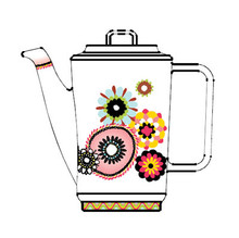 Missoni Margherita Coffee Pot With Lid 35 14 Oz