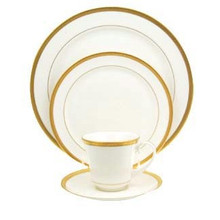 Pickard High Point Gold 5 Piece Setting