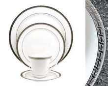 Pickard High Point Platinum 5 Piece Place Setting