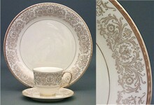 Pickard Tiara Gold Butter Plate