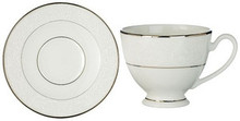 """Waterford Baron's Court Teacup 6 Oz & Saucer 6"""""""