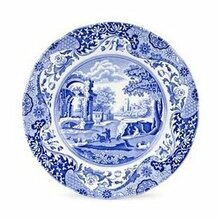"Spode Blue Italian Salad Plate 8"" - set of  6"