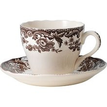 Spode Delamere Teacup & Saucer (6 Sets)