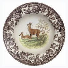 "Spode Woodland Deer Soup Plate 9"" (set of 4)"