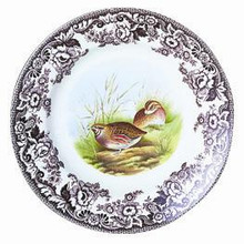 "Spode Woodland Quail Dinner Plate 10"" (Set of 4)"