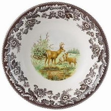 "Spode Woodland American Wildlife Mule Deer Dinner Plate 10.5"" (Set of 4)"
