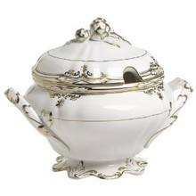 Spode Stafford White Soup Tureen & Cover 3.5 qt.