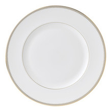 Vera Wang Golden Grosgrain Dinner Plate 10.75""