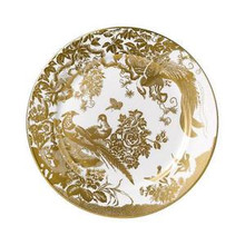 Royal Crown Derby Gold Aves Salad Plate 8""