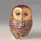 Royal Crown Derby Paperweight - BARN OWL 4.5""