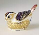 """Royal Crown Derby Paperweight - GOLDCREST 3.5"""""""