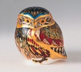 Royal Crown Derby Paperweight - LITTLE OWL 3.25""