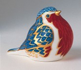 Royal Crown Derby Paperweight - ROBIN 2.5""
