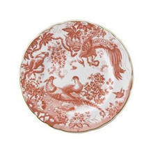 Royal Crown Derby Red Aves Salad Plate 8""