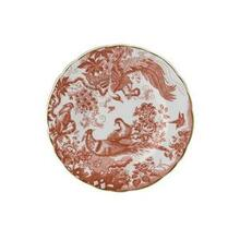 """Royal Crown Derby Red Aves Bread & Butter Plate 6"""""""