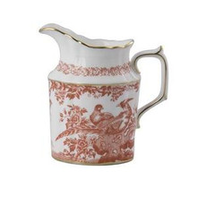 Royal Crown Derby Red Aves Creamer 7oz.
