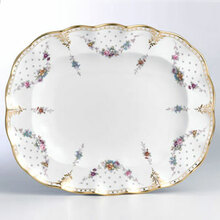 Royal Crown Derby ROYAL ANTOINETTE LARGE PLATTER 15""